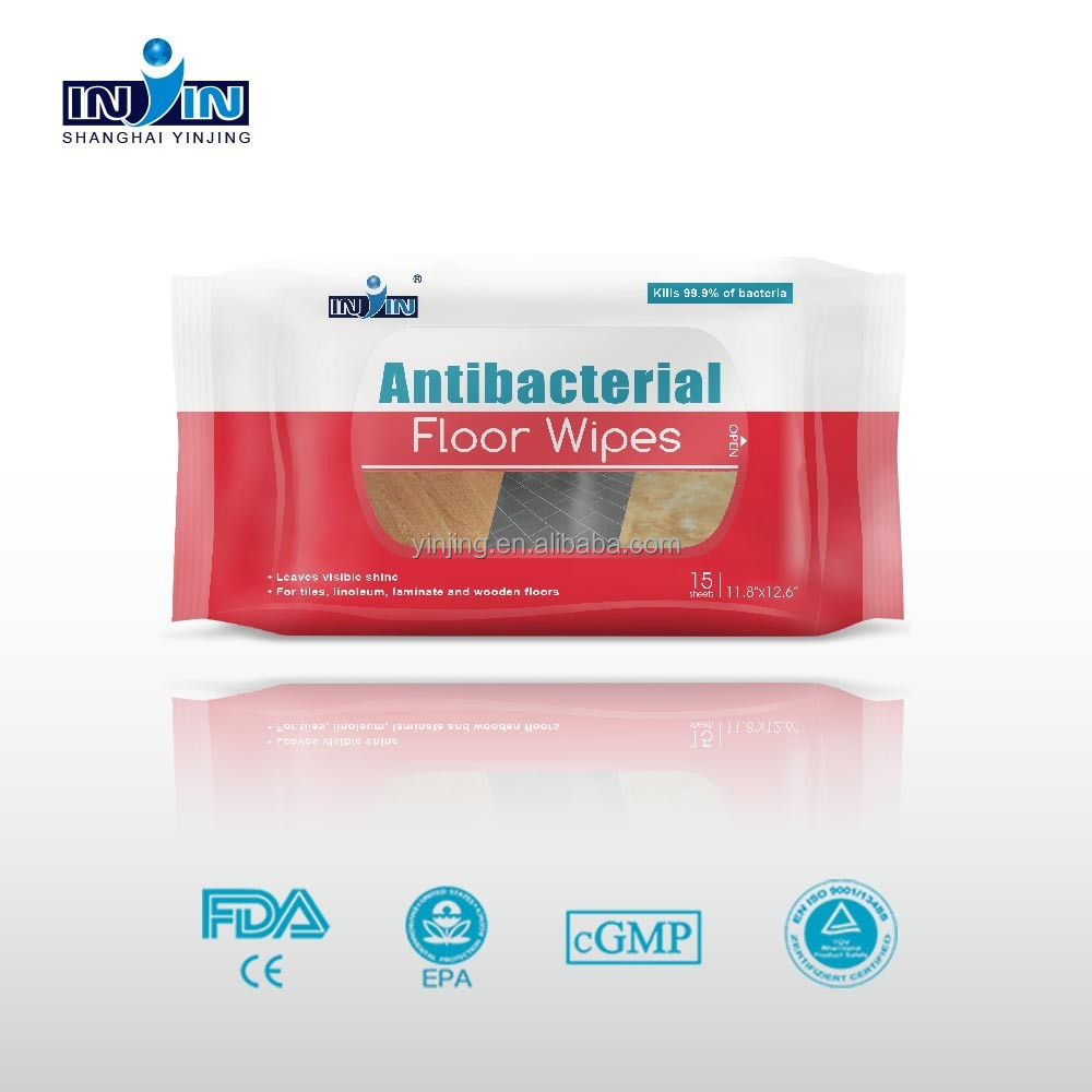 oem fda ce antibacterial floor wipes With antibacterial floor wipes