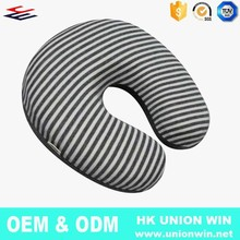 OEM ODM Bamboo Fabric Foam Travel Neck Pillow
