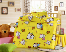 Luxury Lovely Baby Cotton Quilt Sets/ Kid Patchwork Quilt/ Children Cartoon quilts