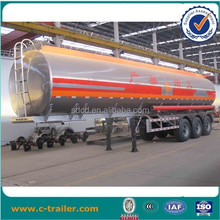 2015 Hot! 42000l stainless steel tank semi trailer for Africa