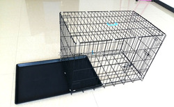 China Best selling dog cage wholesale with removable tray