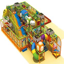 electronic children indoor playground/more fun kids playing house/indoor kids equipment