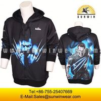 Sublimated Uniform Full Customization two tone hoodies