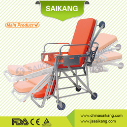 SKB039(E) Ambulance Chair Stretcher, Hopsital transfer trolley