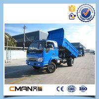 China KAMA 5 ton all wheel drive diesel 4x4 mini dump truck for sale