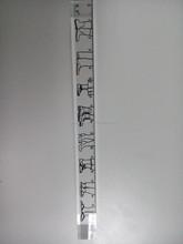 Acrylic ruler/Senior ruler stationery/Best quality acrylic ruler