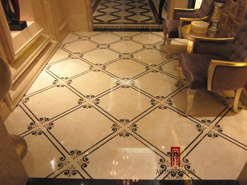Turkey Home Decorative Waterjet Marble Laminated Panel
