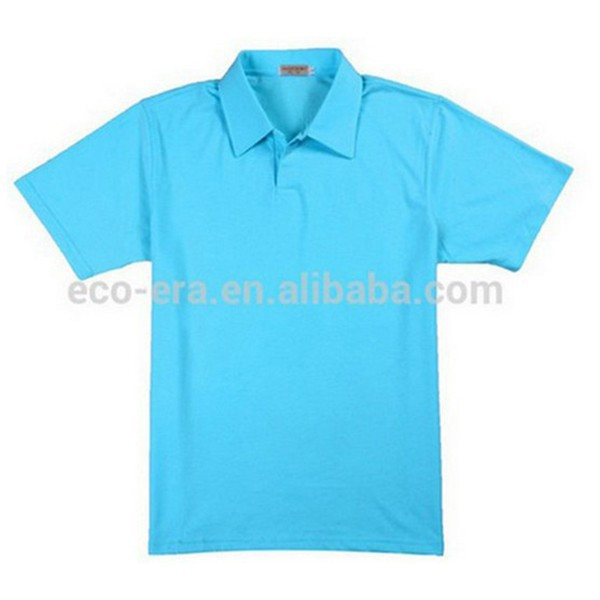 200g 35 polyester 65 cotton polo for Wholesale polo shirts with embroidery