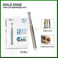 GOLD EDGE Best selling 510 e cigarette 320mAh Mini e cigarette wholesale
