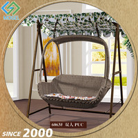 Factory Direct Sale Iron Frame Kid'S Single Seat Swing Chair