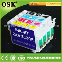 T0731HN ink Cartriges for Epson TX100 TX101 TX200 Refill ink cartridges with Auto Reset Chip