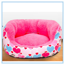 Round Pet Beds Dog Sofa with Super Soft Plush Fabric