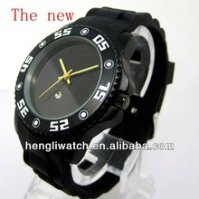 2015 the new fashion Top Brand big Silicone Watch