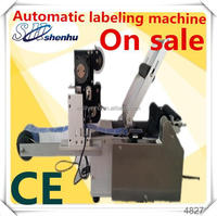 high speed on sale full automatic adhesive bottle sticker labeling machine(shanghai factory)