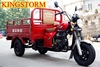 China Supplier Three Wheel Motor Vehicle 150cc/175cc Cheap Adult Cargo Tricycle Diesel Engine