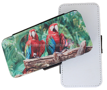 2D sublimation heat transfer DIY blank Flip cell phone cases for Iphone5C