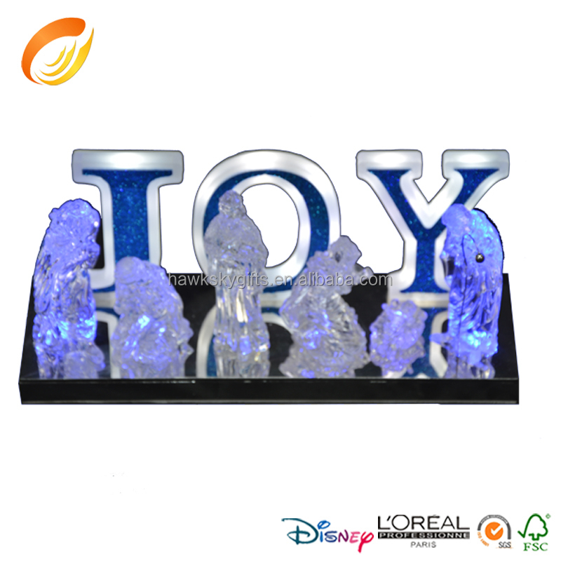 Led indoor joy letters commercial christmas light buy for Lighted letters joy