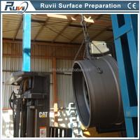 Hanger Hook Type Turbine Wheel Abrasive Sandblast for Sale