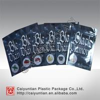 Wholesale Black Diamond herbal incense bag/ 1.5g 3g 10g spice potpourri bag