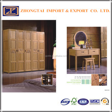 Environmental Bamboo furniture ,wardrobes with dressing table for sale made in China