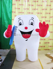 giant inflatable tooth