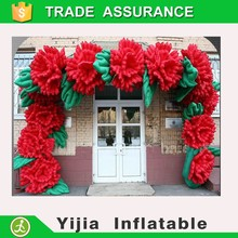 Wedding decoration inflatable flower arch