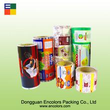 High quality OPP/BOPP/PE food packaging printed film