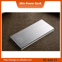 Rubber solar power bank usb mobile phone charger 5000