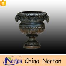 garden decorative goat head bronze flower pot NTBF-FL126S
