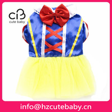 snow white clothes princess dress for dogs