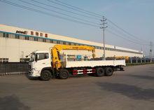 Truck with 14Ton telescopic boom crane