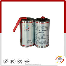 MWD d size downhole high temperature lithium battery (er32615 )