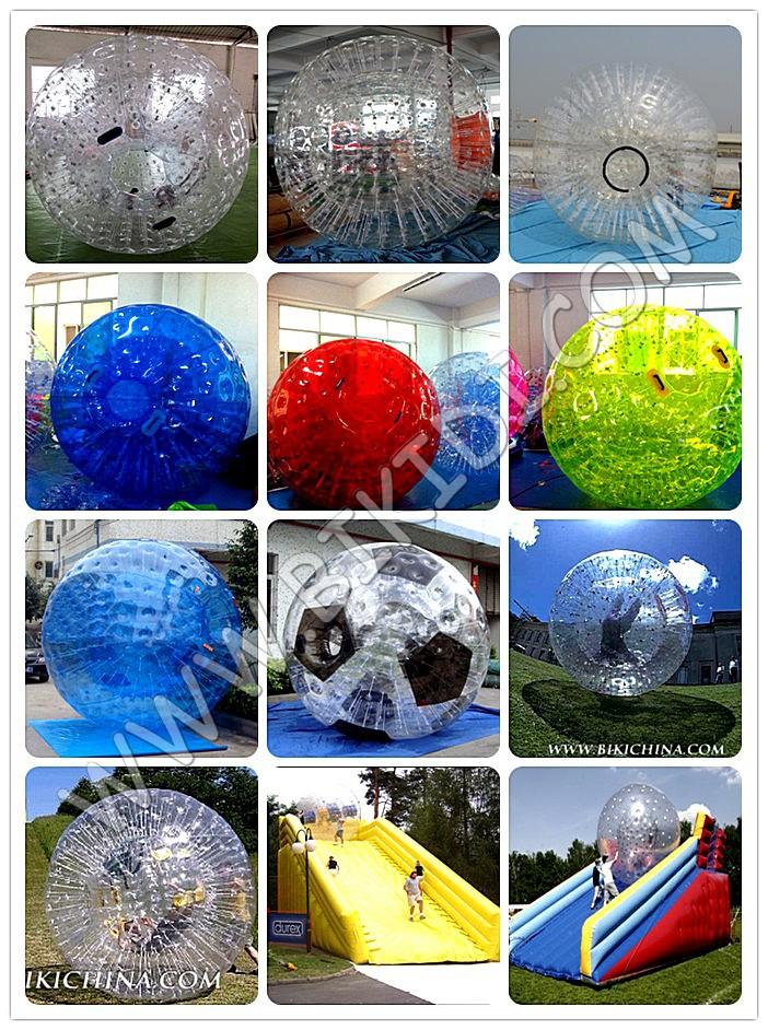 Gonflable boules de marche de l 39 eau rouleau de l 39 eau zorb for Piscine a boule adulte