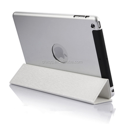 [CX] Hot selling 2 in 1 case aluminum and ultrathin PU leather tablet case For iPad mini 1/2/3/4 case
