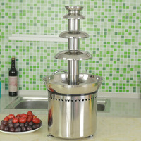 Stainless Steel 4 tiers chocolate fountains for sale for any party hit