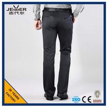 Estabilidad Dimensional vestido de pantalones para hombre