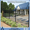 5ft height powder coated aluminum ornamental fence china supplier