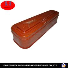 Tissu carton coffret ou papier cercueil de Style américain