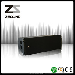 3 way powered outdoor line array speaker system