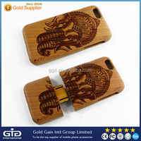 Mobile Phone Wooden Case With Design For iPhone 6 Back Cover