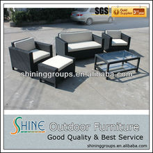 C329 water resistant mini sofa/fashion style wicker sofa in wholesale price from high tech manufacturer