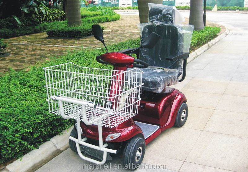 Newest Electric Mobility Scooter With Metal Shopping Cart With Ce Certificate Dl24500 3s From