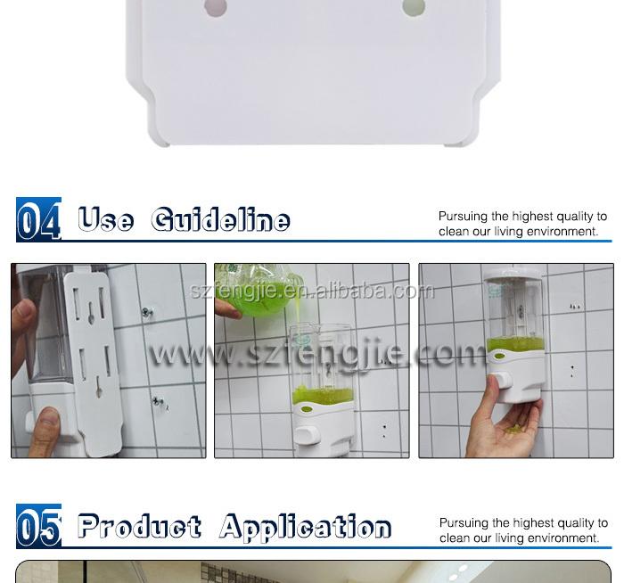 Wall Mount shower gel dispenser/Washroom hanging shower gel dispenser