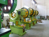 63T Deep throat punching machine, popular sold flywheel punching machine