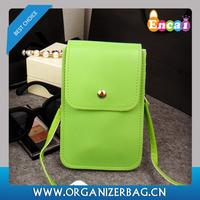 Encai Fashion Ladies Shoulder Bag With Phone Pockets Wholesale Pu Bling Women Wallet