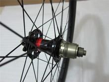 2015 DSBIKE Perfect Performance 26er carbon MTB wheelset, 30mm width tubeless clinchers XC racing enduro wheel
