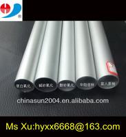 silver anodizing aluminium chair leg 25.4*1.5*440