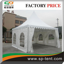 PVC window walls wedding party waterproof tent canopy for small catering events