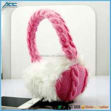 Winter Ear Warmmer Headphones Plush headphone Earmuffs