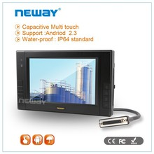 7 inch Window CE Android Linux IP64 openGL rugged tablet
